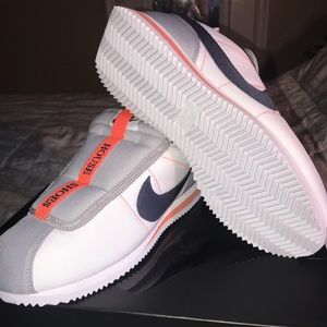 the best attitude 69fa8 00c22 Nike Cortez Basic Slip on's. Nike House Shoes. Boutique